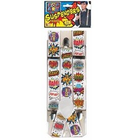 Pop Art Suspenders