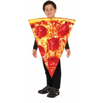Children's Costume Pizza One Size