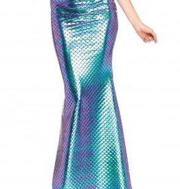 Iridescent Scale Mermaid Skirt Large