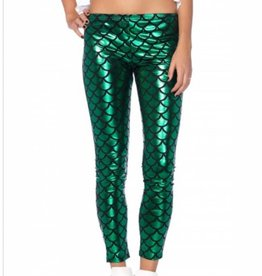 Hipster Mermaid Leggings Extra Small
