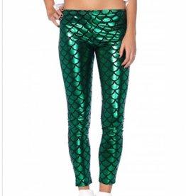 Hipster Mermaid Leggings Medium