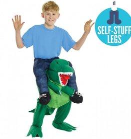 Children's Costume Morphsuit Piggy Back T-Rex