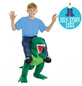 Children's Costume Morphsuit Piggy Back T-Rex