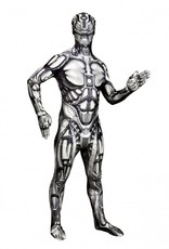 Adult Costume Morphsuit The Android Medium