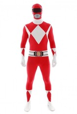Adult Costume Morphsuit Red Power Ranger XL