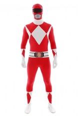 Adult Costume Morphsuit Red Power Ranger XL