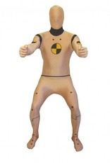 Adult Costume Morphsuit Crash Test Dummy Large