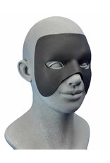 Customizable Hero Mask With Spirit Gum Black