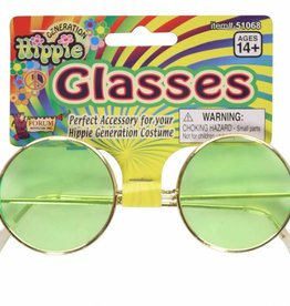 Glasses Hippie Green