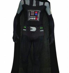 Men's Costume Darth Vader 2ND Skin Suit Medium