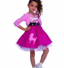 Children's Costume 50s Girl Medium (5-7)