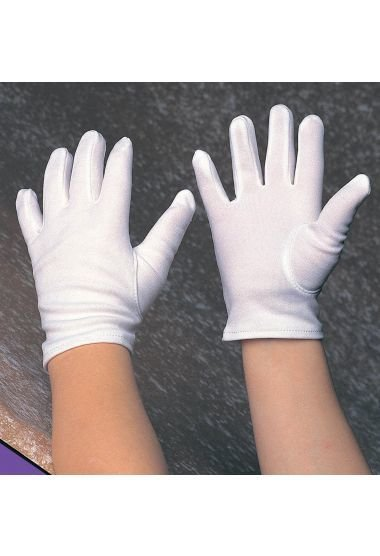White Gloves (Child Size)