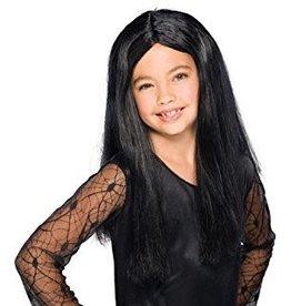 Child Witch Wig Black
