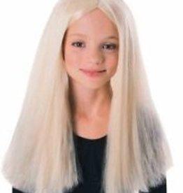 Child Witch Wig Blonde
