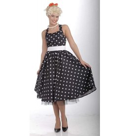 Women's Costume 50s Cutie Black