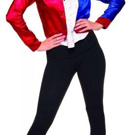 Women's Costume Harley Quinn Jacket