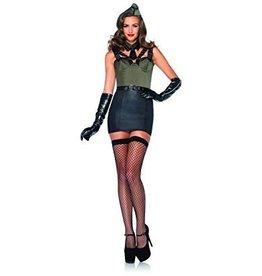 Women's Costume Major Bombshell