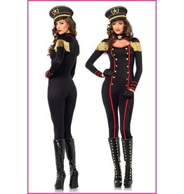 Women's Costume Military Keyhole Catsuit