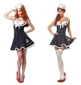 Women's Costume Nautical Doll