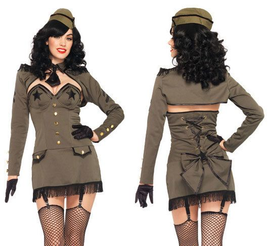 Womenu0027s Costume Pin Up Army Girl  sc 1 st  Itu0027s My Party & Womenu0027s Costume Pin Up Army Girl - Itu0027s My Party