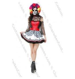 Women's Costume Dia De Muertos