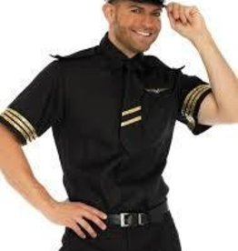 Men's Costume Flight Captain