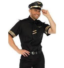 Men's Costume Flight Captain