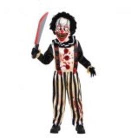 Children's Costume Slasher Clown - Large (12-14)