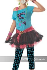Children's Costume 80's Valley Girl Tween Sizes