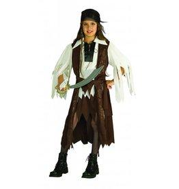 Children's Costume Caribbean Pirate Queen