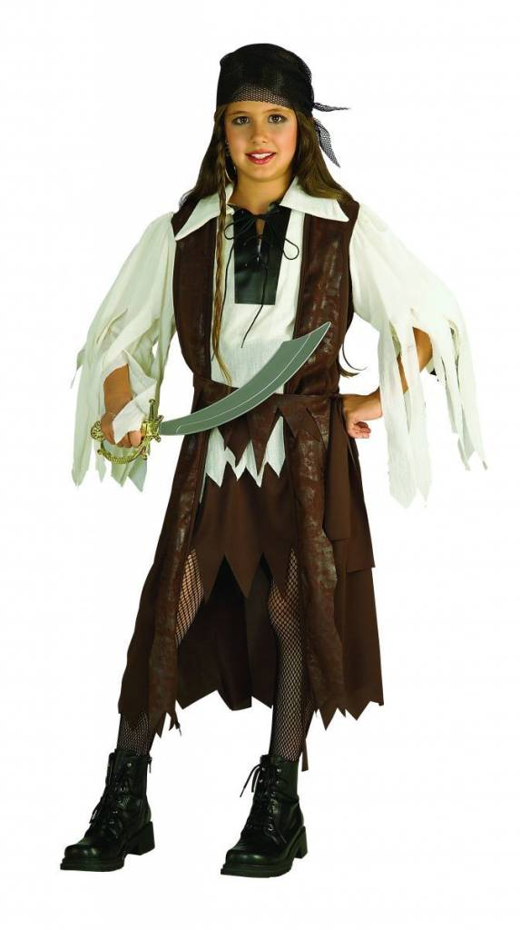 Children's Costume Caribbean Pirate Queen