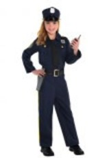 Children's Costume Police Officer - Small (4-6)