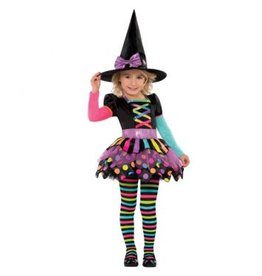 Children's Costume Miss Matched Witch