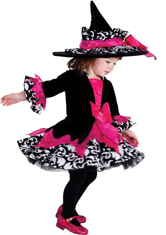 Children's Costume Pink Janie the Witch
