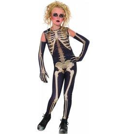 Children's Costume Skelee Girl