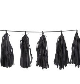 Black Tassel Garland
