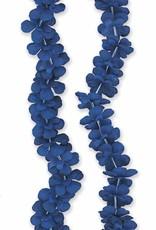 """Blue Flower Lei 40"""""""