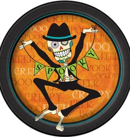 """Day of the Dead 7"""" Plate"""