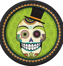 """Day of the Dead 9"""" Plate"""