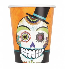 Day of the Dead 9oz Cups (8)