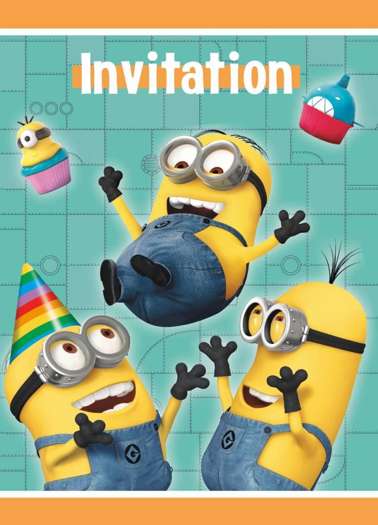 Despicable Me Invitations (8)
