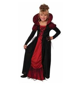Children's Costume Vampiress Queen Medium