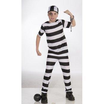 Children's Costume Convict Large