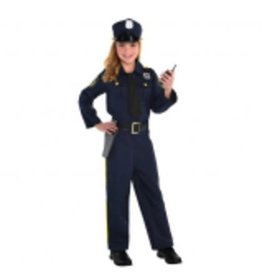 Children's Costume Police Officer Large
