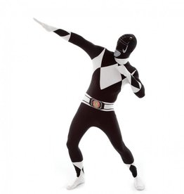 Adult Costume Morphsuit Black Power Ranger
