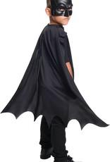 Cape Child Batman With Mask Black