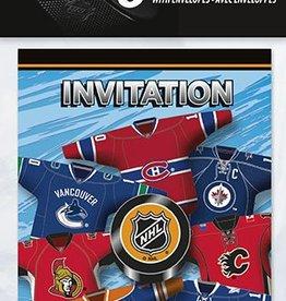NHL Invitations 8pck