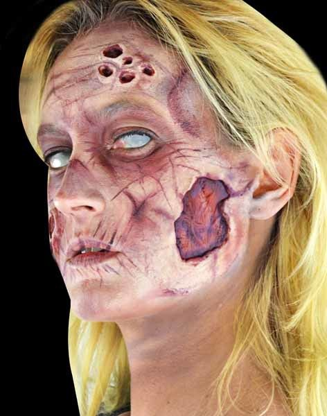 Deluxe Zombie Woman Makeup Kit