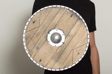 """18"""" Replica Wood Knights Shield"""