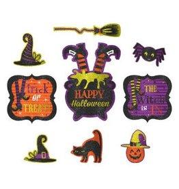 Glitter Halloween Cutouts (9)